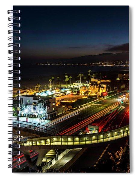 The New P C H Overpass - Night Spiral Notebook