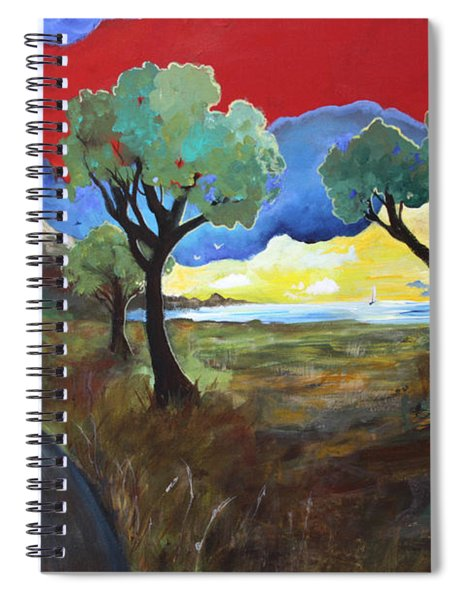 The New Road Spiral Notebook