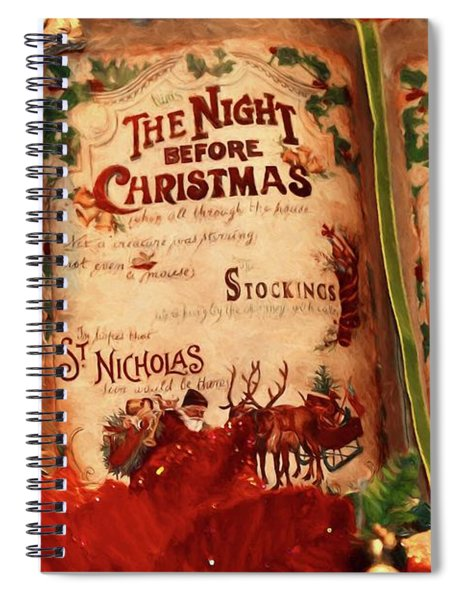 The Night Before Christmas Spiral Notebook
