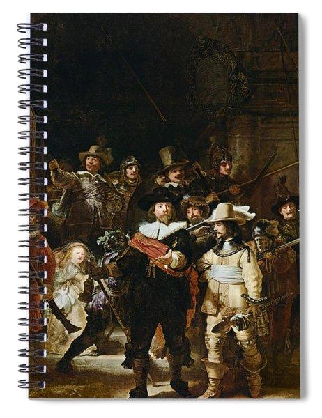 The Nightwatch Spiral Notebook