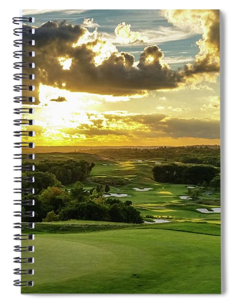 The Ninth Hole II Spiral Notebook