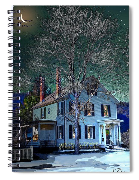 The Noble House Spiral Notebook