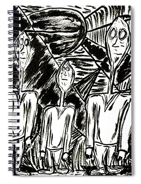 The Nod Trio Circa 1967 Spiral Notebook
