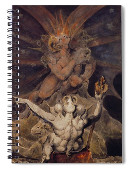 The Number Of The Beast Is 666 Spiral Notebook