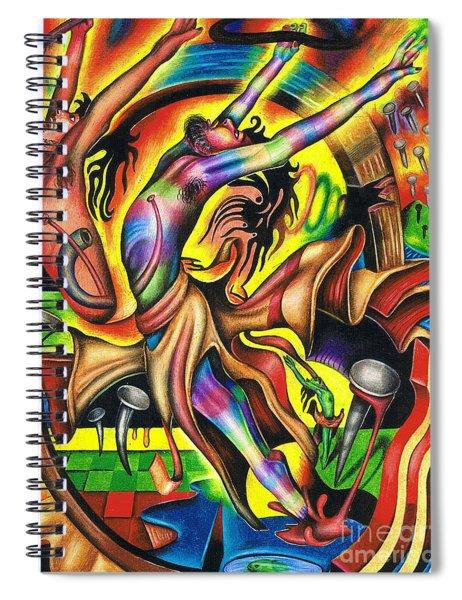 The Numinous Spectrum Of Exaltation Spiral Notebook