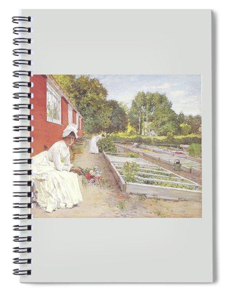 The Nursery Spiral Notebook