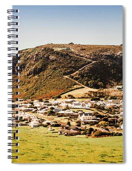 The Nut In Stanley Tasmania Spiral Notebook