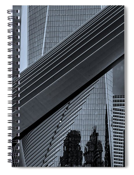 The Oculus And One World Trade Spiral Notebook