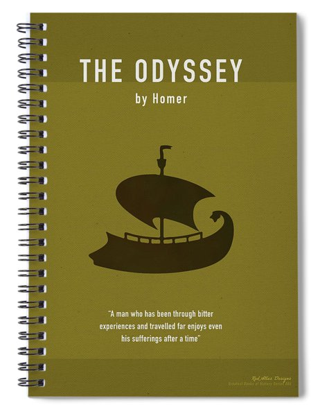 The Odyssey Greatest Books Ever Series 006 Spiral Notebook