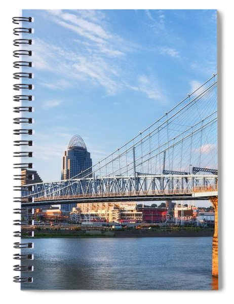 Spiral Notebook featuring the photograph The Old And The New by Mel Steinhauer