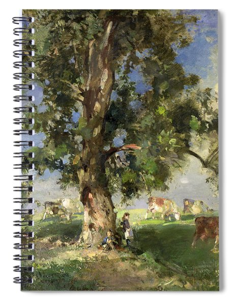 The Old Ash Tree Spiral Notebook