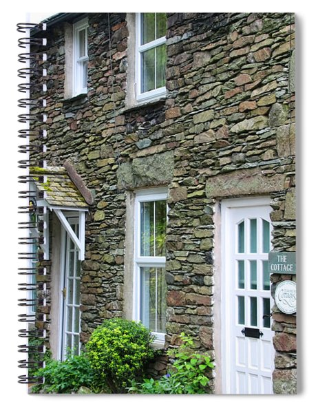 The Old Bakery Cottage In Grasmere  6725 Spiral Notebook