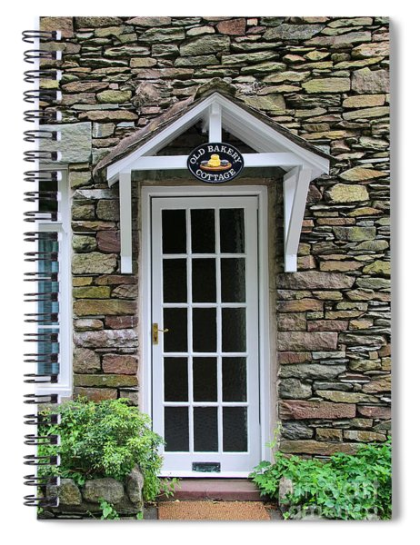 The Old Bakery Cottage In Grasmere  6726 Spiral Notebook