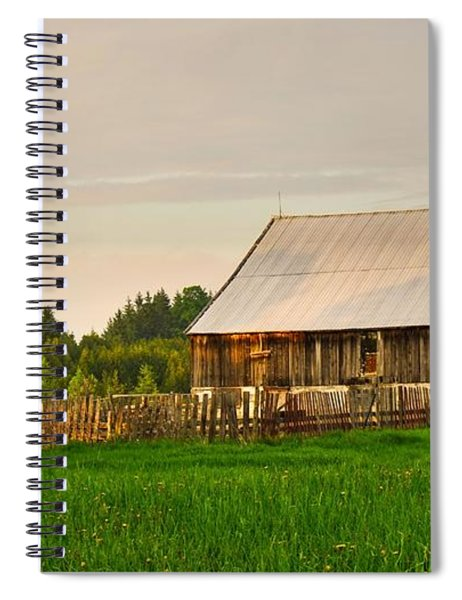 The Old Barn Spiral Notebook