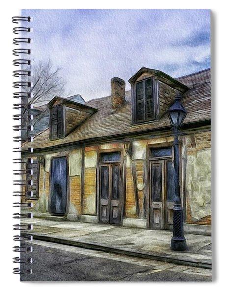 The Old Blacksmith Shop Spiral Notebook