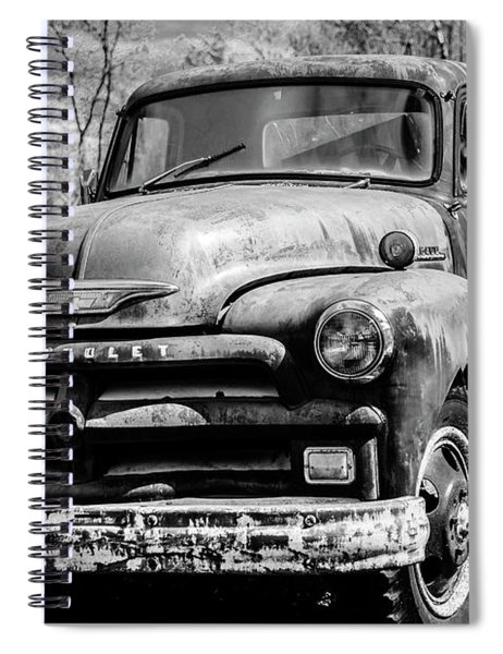 The Old Chevyolet Truck Spiral Notebook