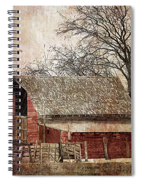 The Old Cope Barn Spiral Notebook
