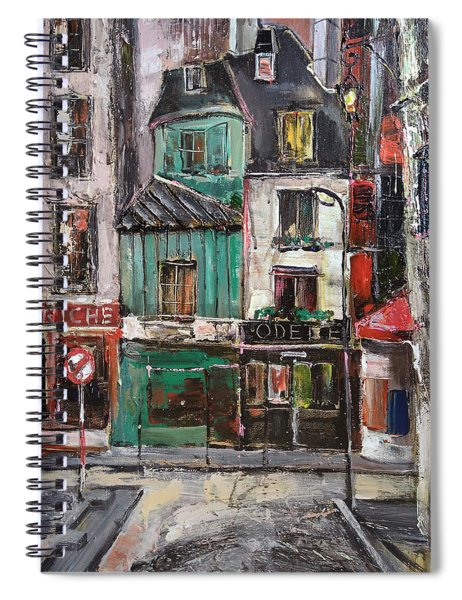 The Old District II Spiral Notebook
