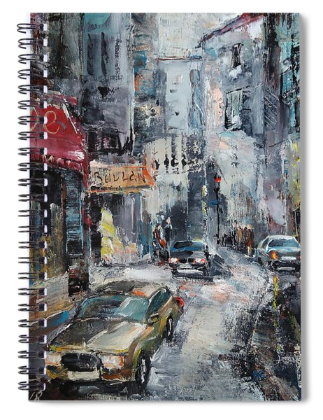 The Old District Spiral Notebook