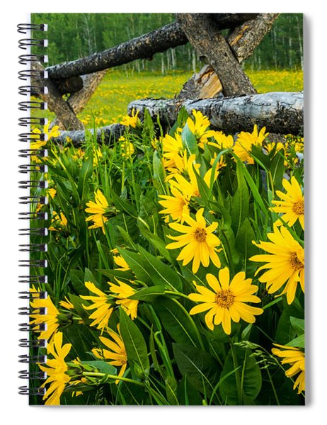 The Old Fence Spiral Notebook