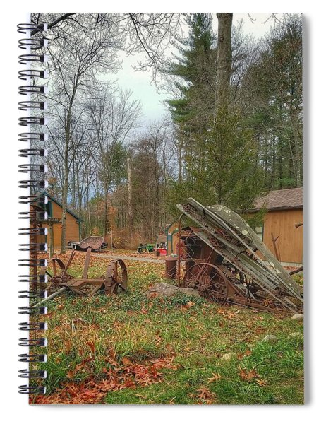 The Old Field Tools Spiral Notebook