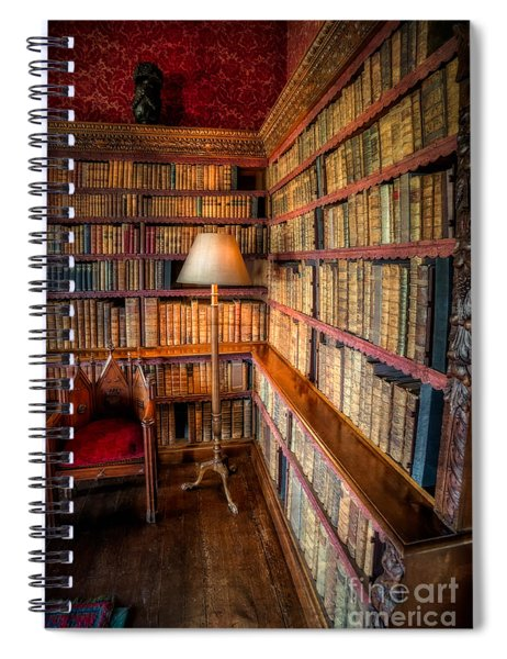 The Old Library Spiral Notebook