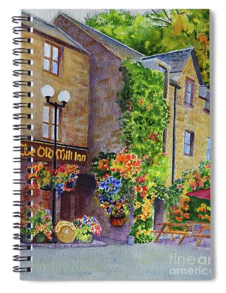 The Old Mill Inn Spiral Notebook