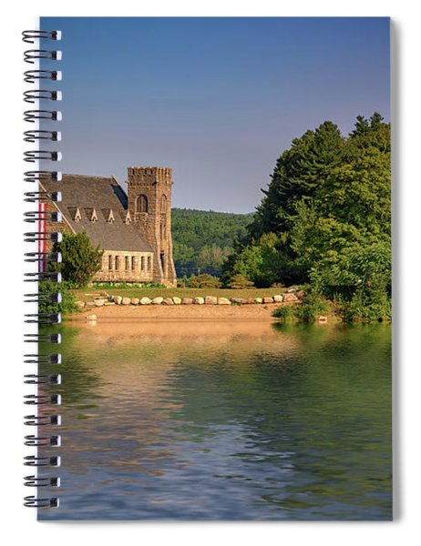 The Old Stone Church Spiral Notebook