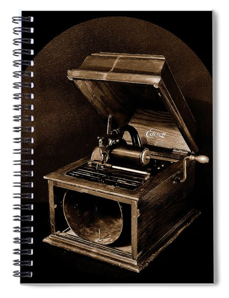 The Old Victrola Spiral Notebook