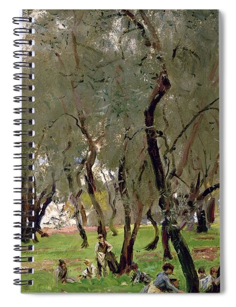 The Olive Grove Spiral Notebook
