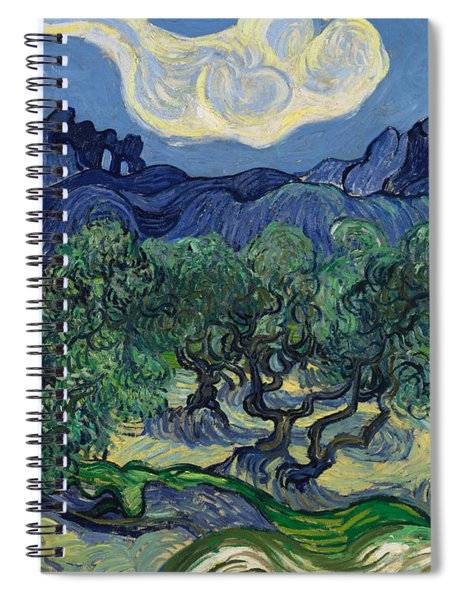 The Olive Trees Spiral Notebook