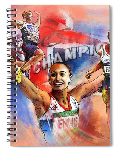The Olympics Night Of Gold Spiral Notebook