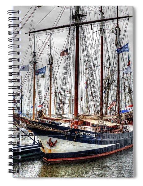 The Oosterschelde Spiral Notebook