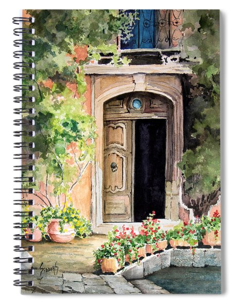 The Open Door Spiral Notebook