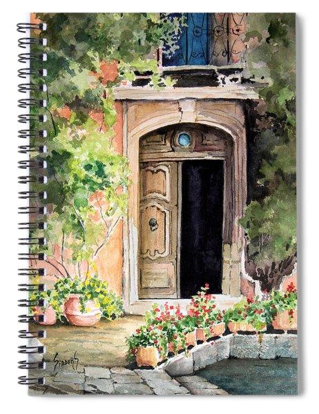 The Open Door Spiral Notebook