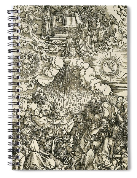 The Opening Of The Sixth Seal  Spiral Notebook