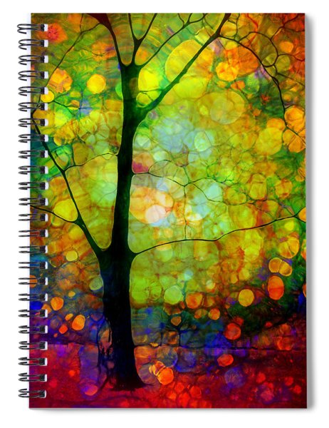 The Optimist Spiral Notebook