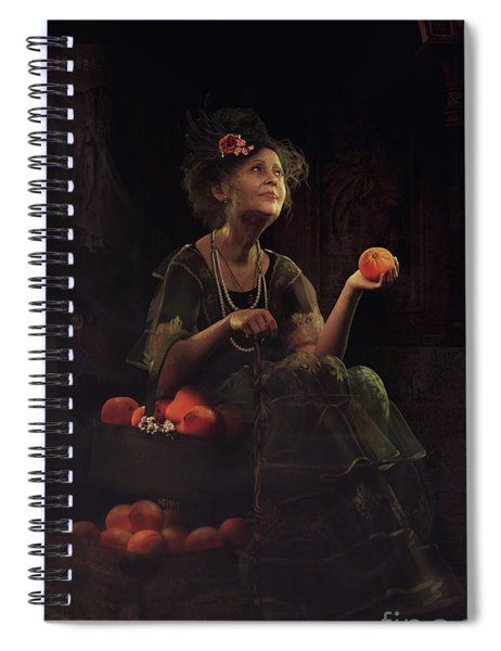 The Orange Lady Spiral Notebook