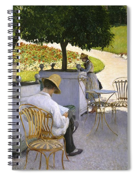 The Orange Trees Spiral Notebook