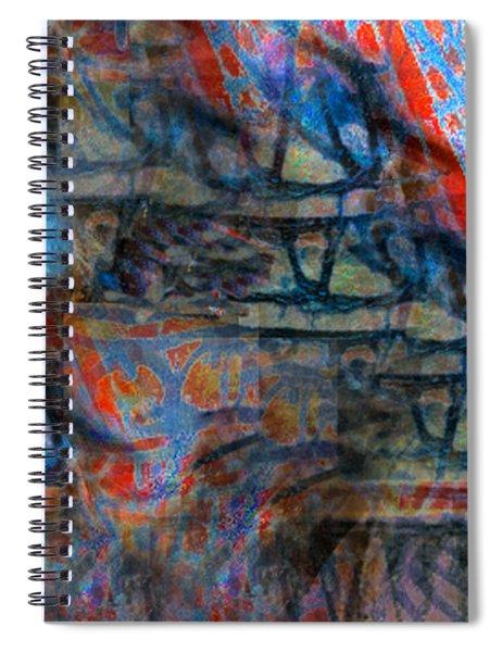 The Origins Of The Nabu  Spiral Notebook
