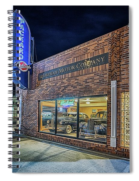 The Orphan Motor Company Spiral Notebook