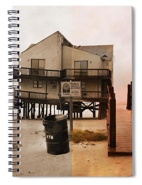 The Osprey And The Pelican Spiral Notebook
