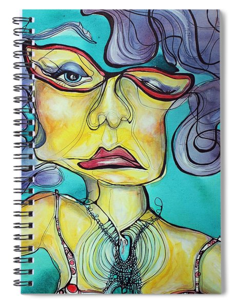 The Other Side Of Her Spiral Notebook