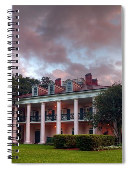 The Other Side Of Oak Alley Spiral Notebook