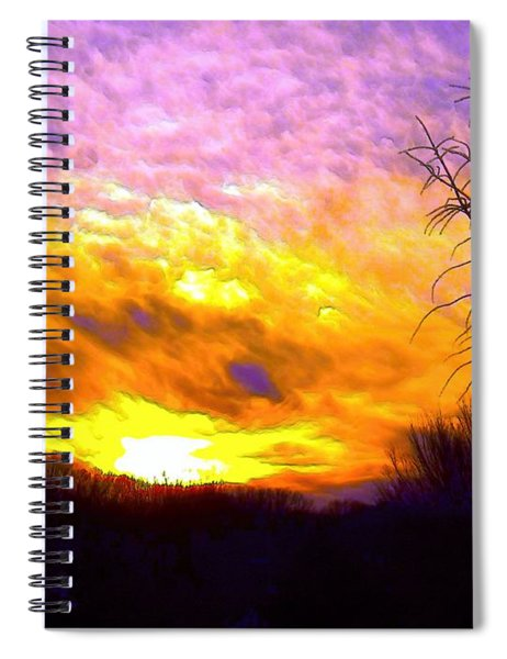 The Other Side Of The Rainbow Spiral Notebook