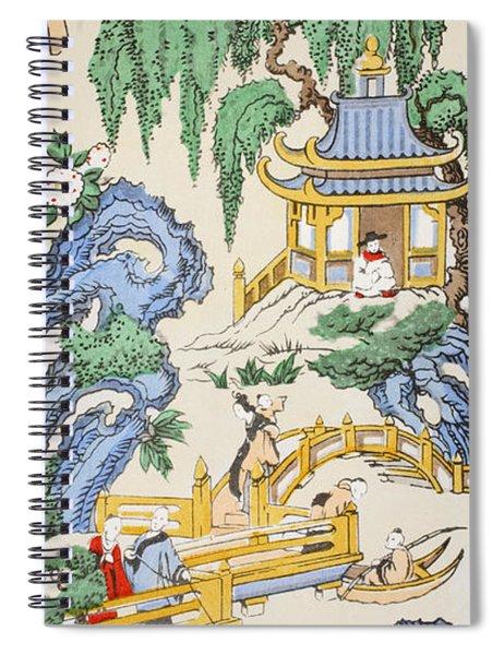 The Pagoda Spiral Notebook