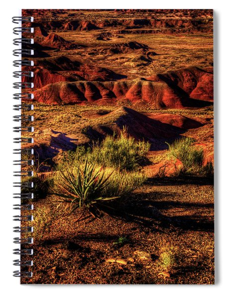 The Painted Desert From Kachina Point Spiral Notebook