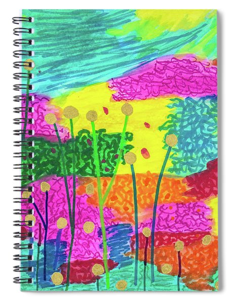 The Painted Desert Redux Spiral Notebook