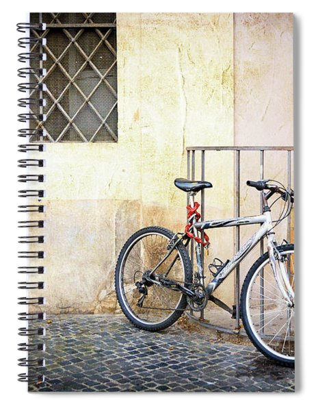 The Pale Bicycle Spiral Notebook