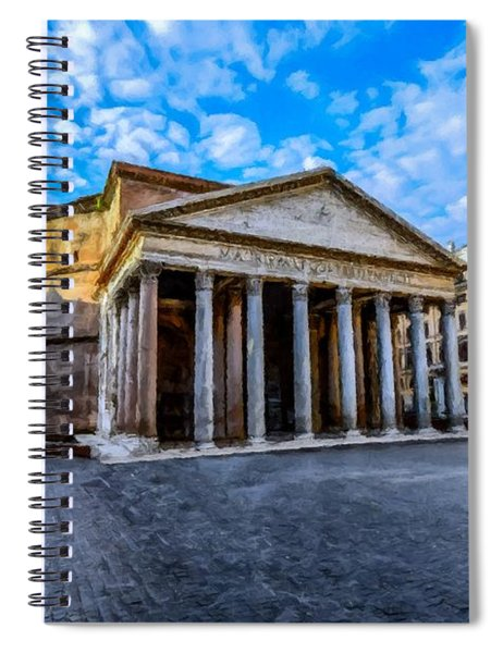The Pantheon Rome Spiral Notebook